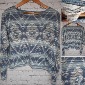 Denim & Supply Ralph Lauren crop sweater size L